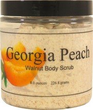 Georgia Peach Walnut Body Scrub - $18.42+