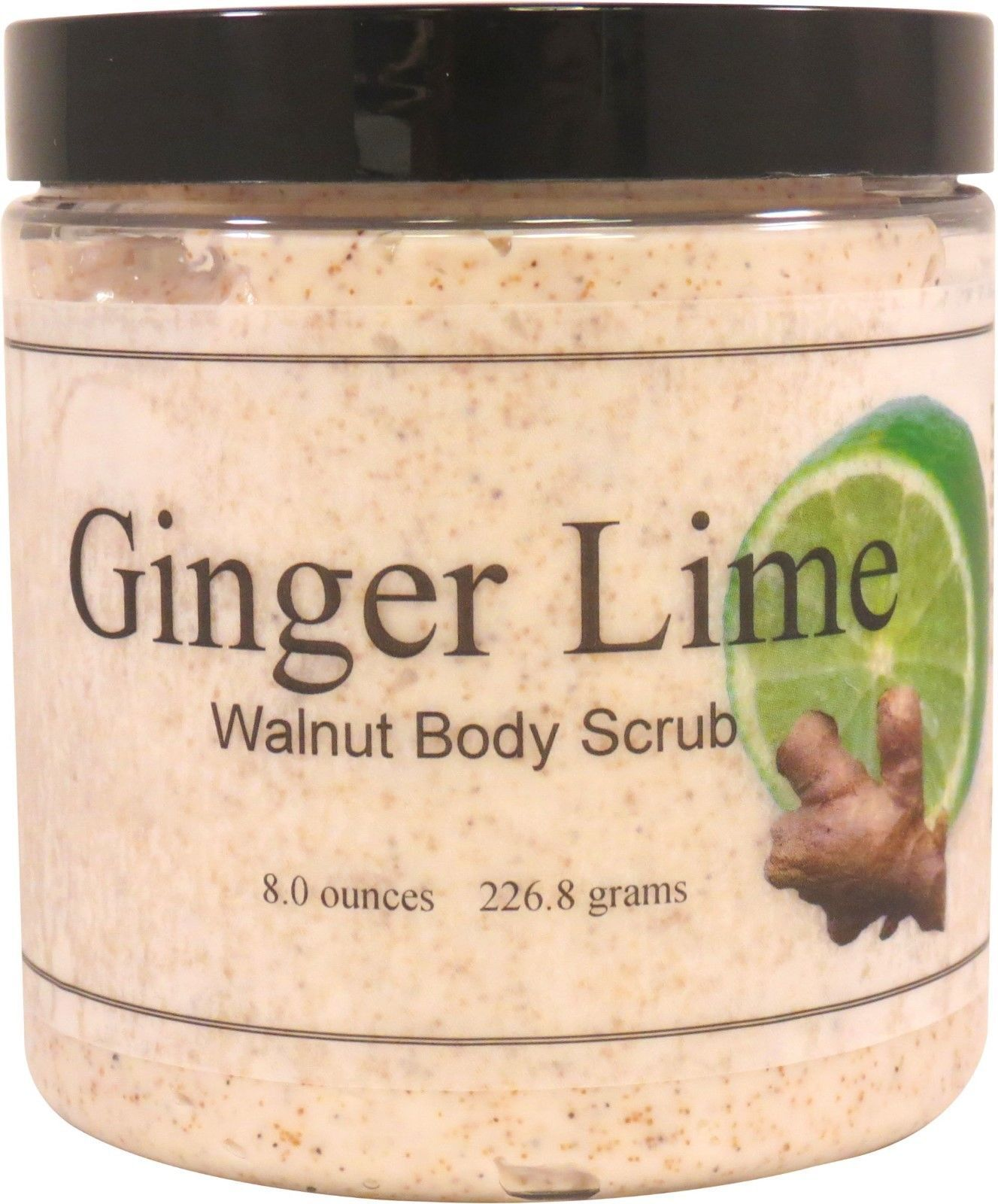 Ginger Lime Walnut Body Scrub