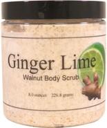 Ginger Lime Walnut Body Scrub - $18.42+
