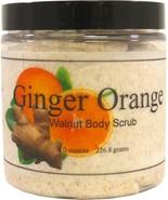 Ginger Orange Walnut Body Scrub - $18.42+