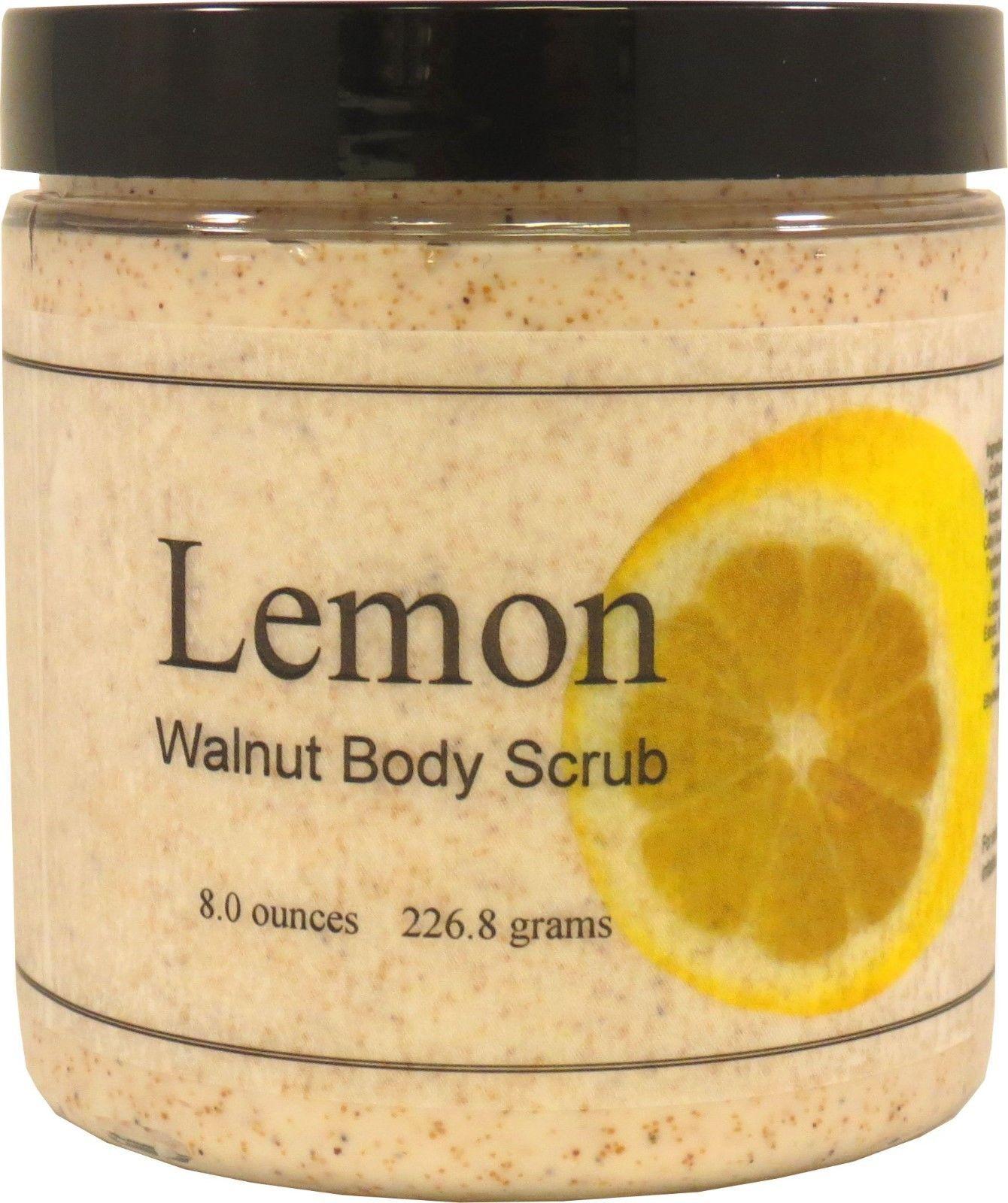 Lemon Walnut Body Scrub