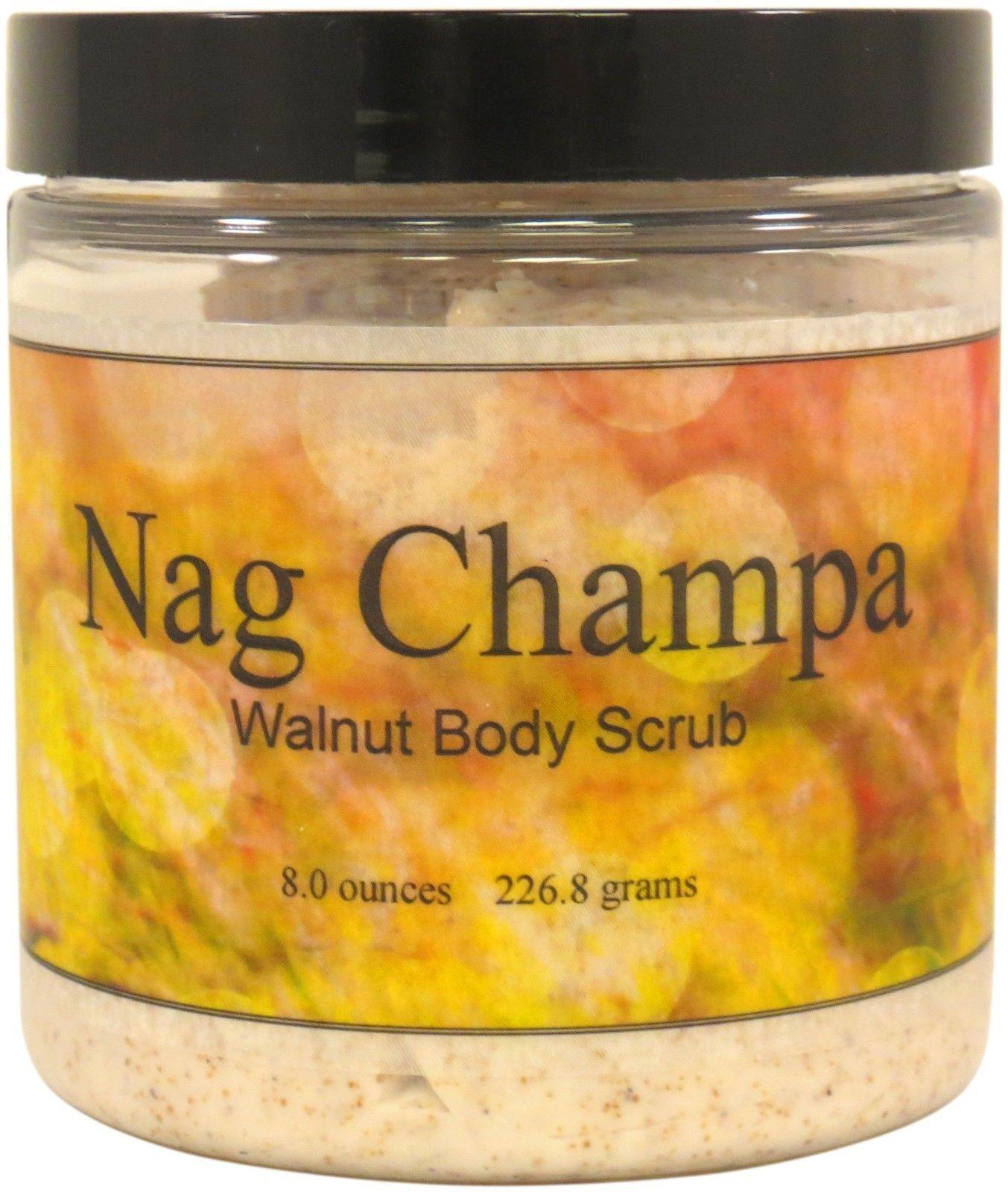 Nag Champa Walnut Body Scrub