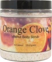 Orange Clove Walnut Body Scrub - $18.42 - $26.18