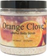 Orange Clove Walnut Body Scrub - $18.42+