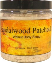 Sandalwood Patchouli Walnut Body Scrub - $18.42+
