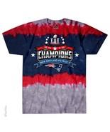 New  NEW ENGLAND PATRIOTS SUPERBOWL CHAMPIONS   Tie Dye  T Shirt NFL LIC... - $21.99+