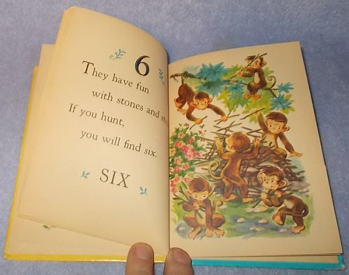 Ten Little Monkeys Rand McNally Junior Elf Counting Book Katherine Phillips