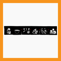 "large Sushi Noren curtain shop tapestry restaurant bar doorway hall 72 x12"" - 08 - $25.00"