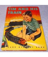 Tim and his Train Rand McNally Children's Book ... - $6.95