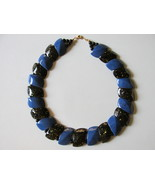 "Retro / Vintage Avon ""Color Impact"" Choker Length Necklace - 1987 - $10.99"