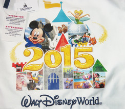 Disney World Mickey Mouse Nemo Tinker Bell Chip Dale Cinch Sack Tote 2015 New - $39.95