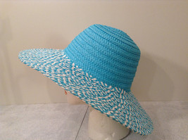 "Woman Summer Sun Hat ""Jasmine"" Straw like design"