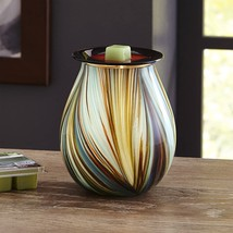 Better Homes And Gardens Mystify Art Glass Wax Warmer BRAND NEW - $38.99