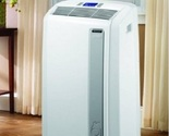 Portable Air Conditioner Lg 12000 BTU In Room Ductless Remote Control Quiet Fan