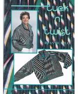 Tuck and Twist Designer Jacket to Sew  - $8.99