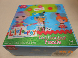 NEW FRIENDS LaLaLOOPSY LENTICULAR PUZZLE 24 PIECES KIDS VALENTINE'S DAY ... - $5.93
