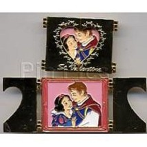 Disney M&P Valentine's Day Snow White & Prince Hinged Limited Edition 25... - $19.58