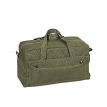 Olive Drab Mil Spec GSA Canvas Mechanics BRASS ZIPPER Medic Tool Duffle Bag - $29.69