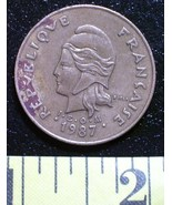 New caledonia 1987 100 franc  1 thumbtall