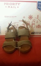 A2 BY AEROSOLES WOMEN'S WEDGE SLINGBACK SANDAL SIZE 6.5 MED NEW ORG. 69.... - $19.99