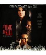 TIME TO KILL LTBX  SANDRA BULLOCK LASERDISC RARE - $9.95
