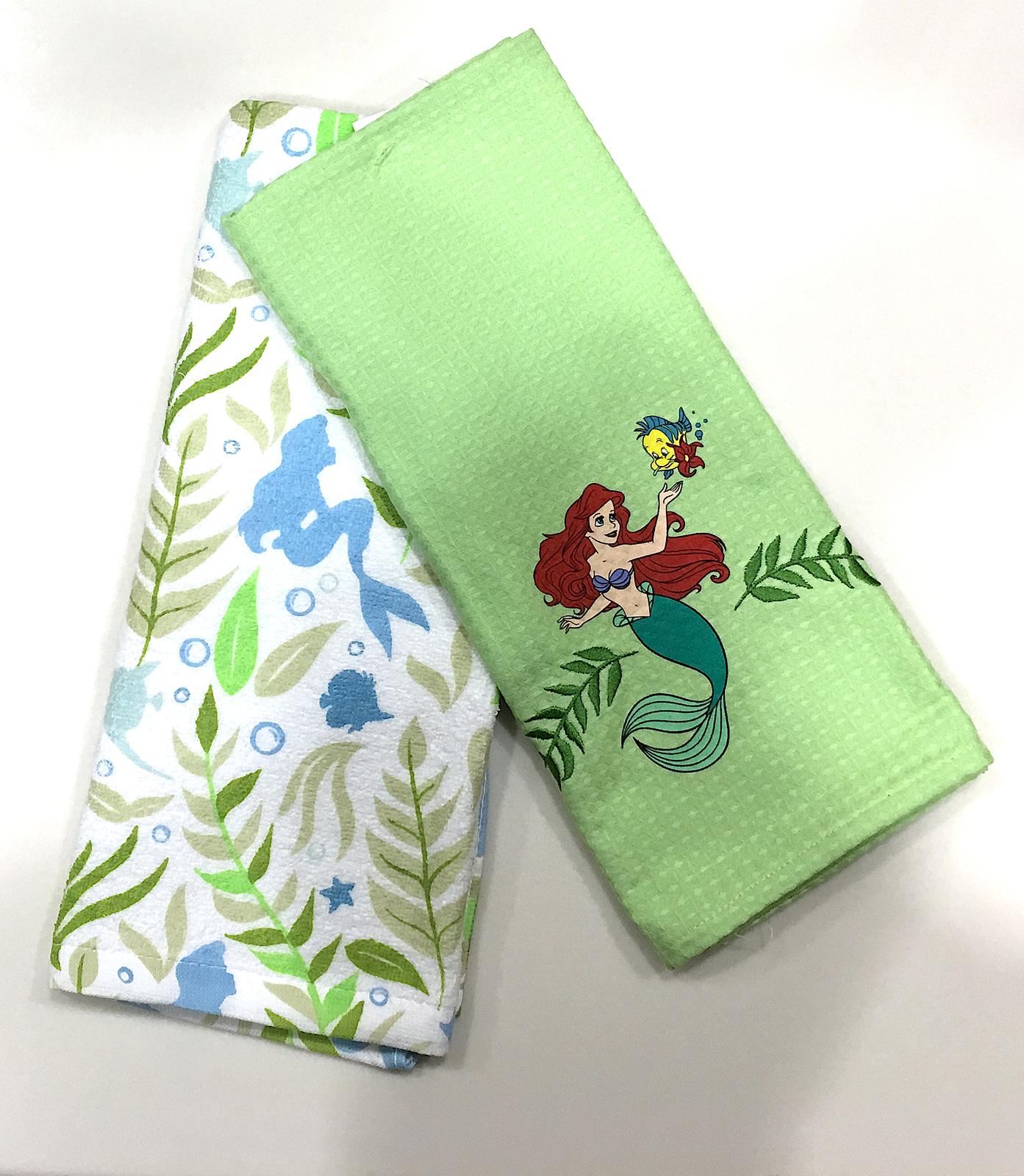 Disney Parks Authentic Ariel Little Mermaid Kitchen Dish ...