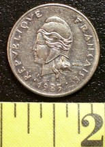 French 10 Franc Coin 1983 New Caledonia Rare! - $3.00
