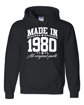 Made in 1980 all original parts Hoodie - $32.50