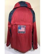 Vintage Ralph Lauren Jacket Chaps Windbreaker Polo Flag Sport RLX Bear L... - $59.99