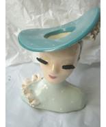 Betty Lou Nichols head vase headvase Nellie in perfect condition - $252.45