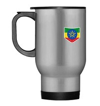 Ethiopia Flag Ethiopian Pocket Flag Ethiopia Travel Mug Gift - $21.99