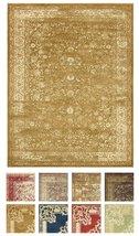 Vintage Inspired Overdyed Design Gold Area Rug ... - $98.01