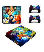 PS4 Slim Console Dualshock Controllers Skin Dra... - $12.00