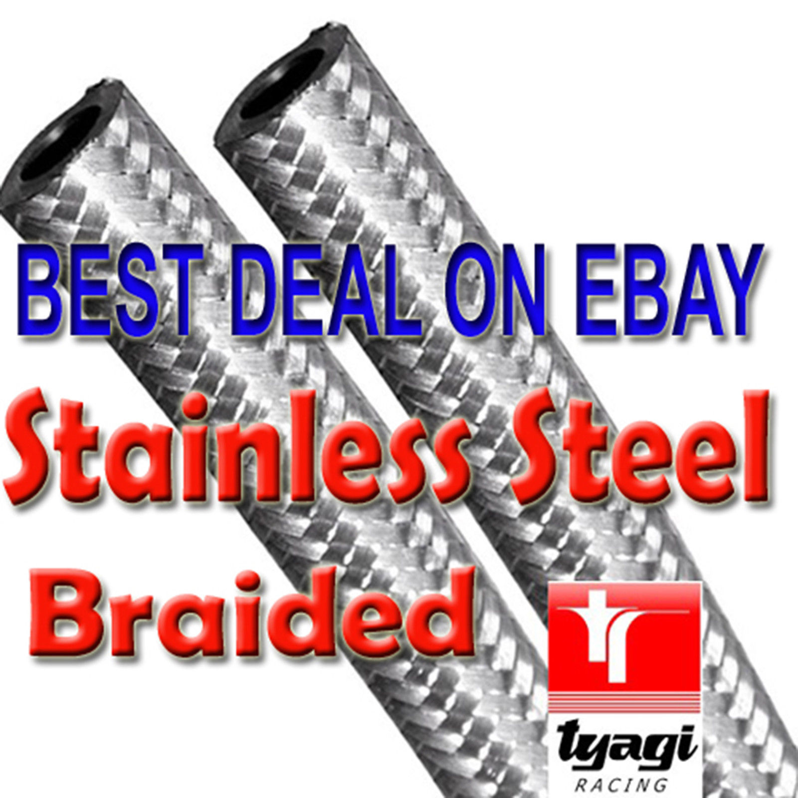 8mm Stainless Steel Braided Fuel Line Petrol and 50 similar items