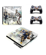 PS4 Slim Console Dualshock Skin Stephen Curry N... - $12.00