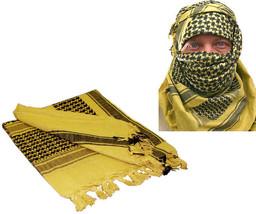 Desert Sand Shemagh Tactical Desert Keffiyeh Arab Lightweight Scarf - $8.95