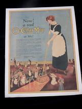 O. CEDAR MOP original 1930s Ad POSTER condition... - $46.40