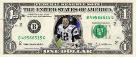 TOM BRADY Super Bowl 51 Patriots Champions on REAL Dollar Bill NFL Footb... - $7.77