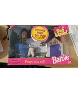 NIB 1998 Pet Lovin' Barbie Doll & Puppy - $15.19