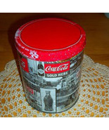 RARE BLACK AND WHITE Coca Cola Tin Jigsaw Puzzl... - $18.98