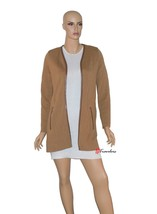 Charter Club Woman's Sweater Cardigan Brown Copper Rust 100% Cotton $89.50 - $22.38