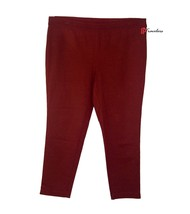 INC International Concepts Women's Pants Plus 24W Dark Berry Red Pull-On... - $23.80