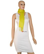 Charter Club Luxury Women's Scarf Warm Olive Green 62x10 100% Cashmere $95 - ₨2,653.34 INR