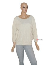 Charter Club Woman's Sweater Gold Shine with Metallic Fibers Acrylic $69.50 - $17.38