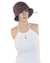 Collection Eighteen XXXIII Women's Hat Cloche Gray with Band 100% Wool $38 - $15.20