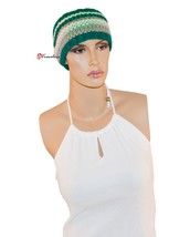 Collection Eighteen XXXIII Women's Hat Head Wrap Turquoise Yellow and Gr... - ₨462.38 INR