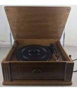 Thomas Pacconi Classics Vinyl Record Player Turntable, TPC-7470-0020, Ve... - $70.13