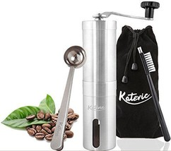 Coffee Grinder Manual Adjustable Ceramic Burr B... - $36.42