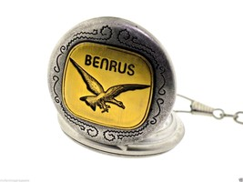 Benrus Full Hunter Silver & Gold TN Etched Eagl... - $45.00