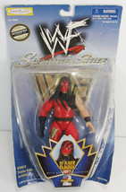1998 WWF Undertaker Figure Jakks Pacific Superstars Series 2 Opened On Card -K6 - $8.99